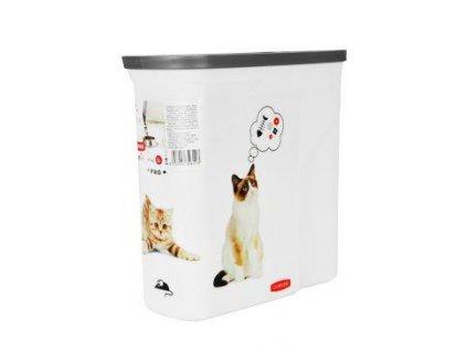 Curver kontejner na suché krmivo 2l kočka
