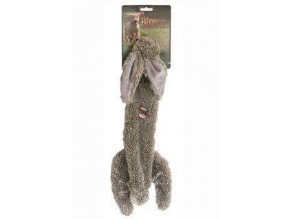 Hračka pes Zajíc pískací 61cm Skinneeez