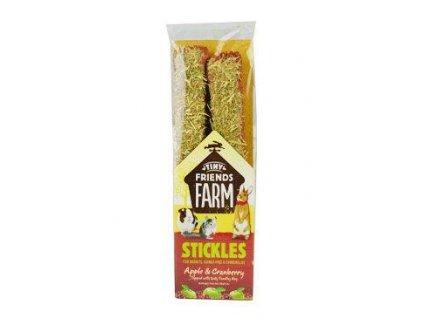 Supreme Tiny Farm Stick Jablko,brusinka králík 2ks