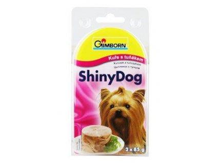 Gimdog konz. ShinyDog tuňák/kuře 2x85g