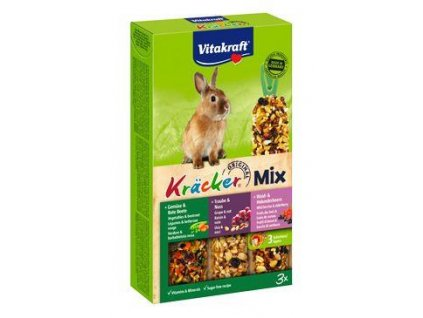 Vitakraft Rodent Rabbit poch. Kräck Trio mix 3ks