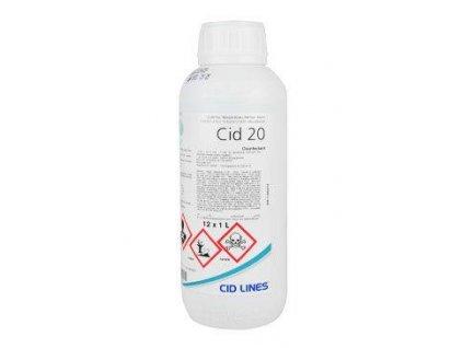 Cid 20 sol 1l dezinfekce stájí