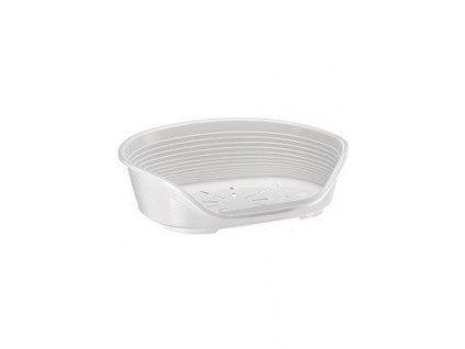 Pelech plast SIESTA DLX 10 bílý 93,5x68x28cm FP 1ks
