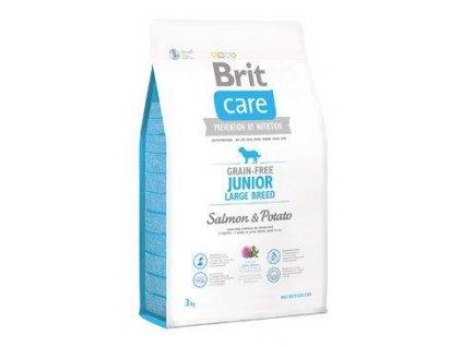 Brit Care Dog Grain-free Junior LB Salmon & Potato 3kg