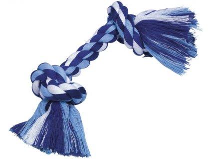 Nobby hračka uzel pro psy 32 cm 180 g modrá