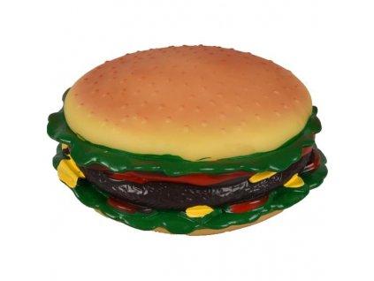 Hračka vinyl Hamburger 15cm Flamingo