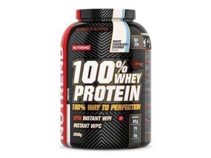 Nutrend Whey Protein 100% čokoláda+kokos 2250g