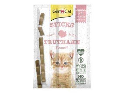 Gimpet Sticks Kitten krocan+calcium 3ks