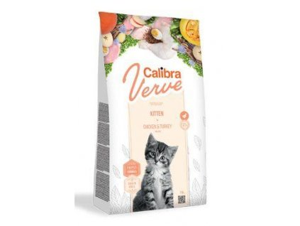 Calibra Cat Verve GF Kitten Chicken&Turkey 750g