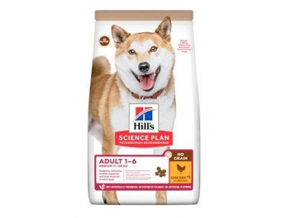 Hill's Can.Dry SP Adult Medium NG Chicken 14kg