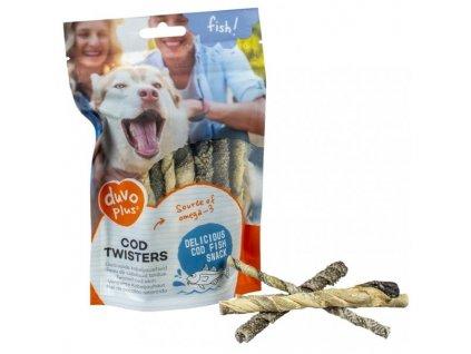 Duvo+ dog Fish! Treska kroucená tyč 100 g