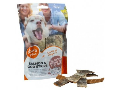 Duvo+ dog Fish! Plátky losos + treska 150 g