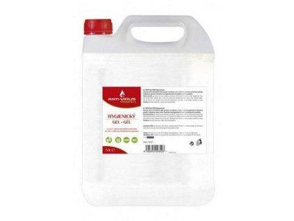 Dezinfekční gel na ruce Anti-VIRUS PROFEX 5l