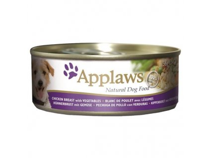 Applaws Dog konz. kuře a zelenina 156 g