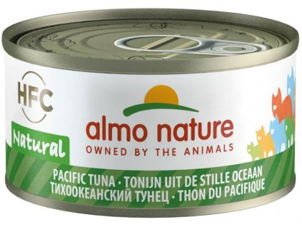 Almo Nature cat konz. Natural-tuňák 70g