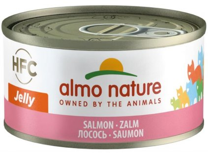 Almo Nature cat konz. Jelly-losos 70g
