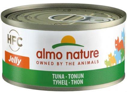 Almo Nature cat konz. Jelly-tuňák 70g