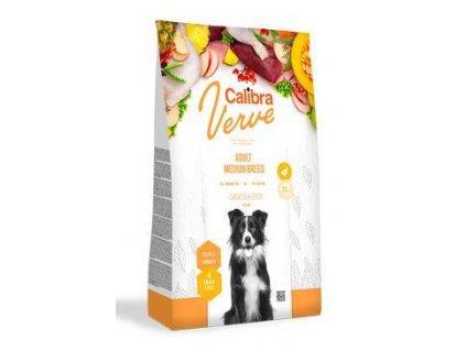 Calibra Dog Verve GF Adult Medium Chicken&Duck 12kg