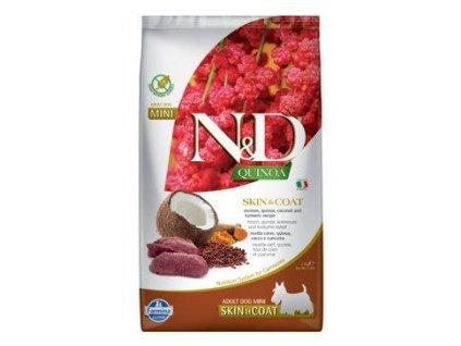 N&D Quinoa DOG Skin & Coat Venison & Coconut Mini 2,5g