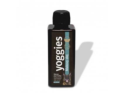 yoggies makovy olej pro psy a kocky 250 ml