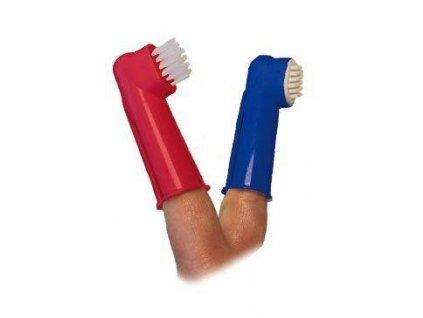 Kartáček zubní na prst  2ks CVET