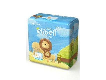 Plenkové kalhotky dětské Elibell XL 12-17kg 20ks