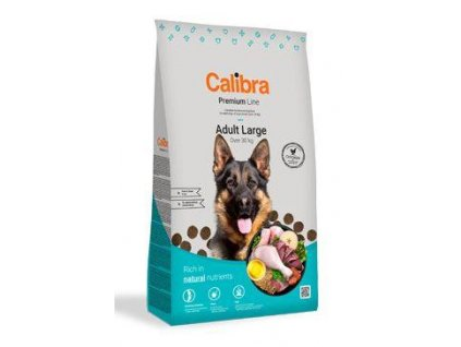 Calibra Dog Premium Line Adult Large 3 kg NEW