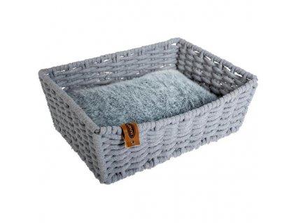 Pelech cat textil Oyster 45x34x16 Duvo+