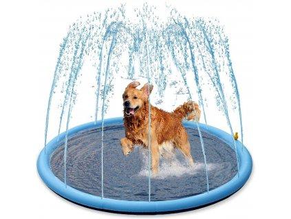 Nobby stříkací bazének Splash Pool 150 cm  + Tender Loving Care pamlsek - jehně 100g
