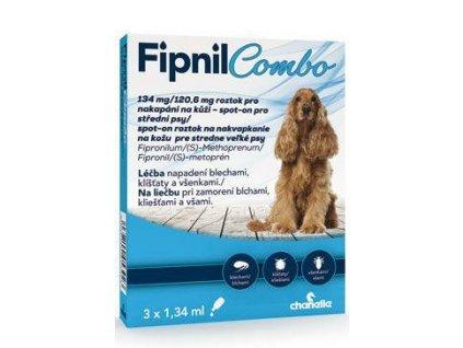 Fipnil Combo 134/120,6mg M Dog Spot-on 3x1,34ml