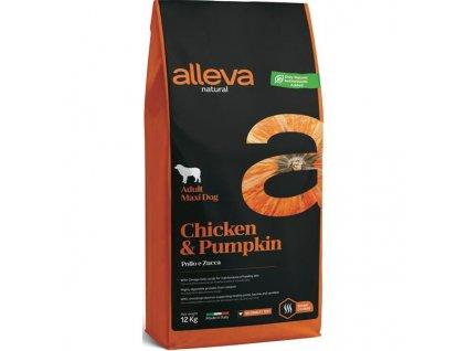 ALLEVA NATURAL Dog Dry Adult Chicken&Pumpkin Maxi 12kg