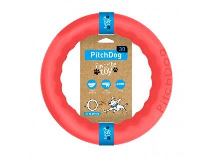 PitchDog - tréninkový KRUH pro psy - růžový