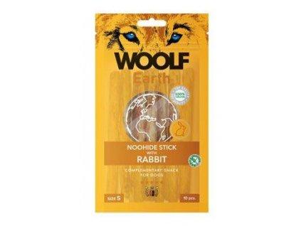 Woolf pochoutka Earth NOOHIDE S Rabbit 90g