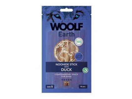 Woolf pochoutka Earth NOOHIDE S Duck 90g