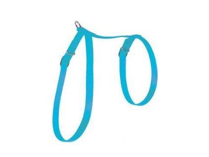 Postroj kočka nylon 10mm modrý Zolux