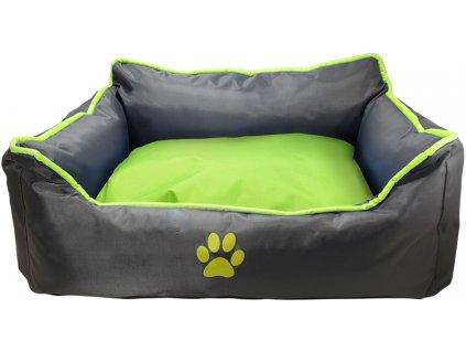 Nobby Classic pelíšek RENO pro psy světle zelená 73x59x18cm