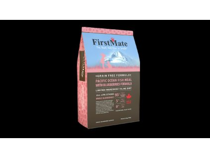 FirstMate Pacific Ocean Fish With Blueberries Cat 2x4,54 kg