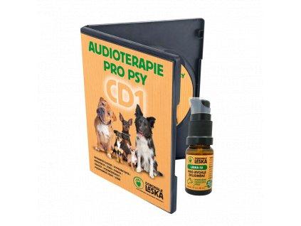 Zvýhodněný balíček Pro rychlé zklidnění + CD1 Audioterapie