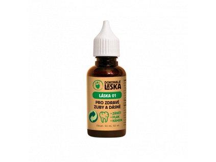 LÁSKA 01 Pro zdravé zuby a dásně - 50 ml - pro pejsky