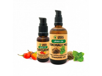 PROPOJENÍ - partnerská terapie - zvýhodněná kolekce dvou terapeutických olejů