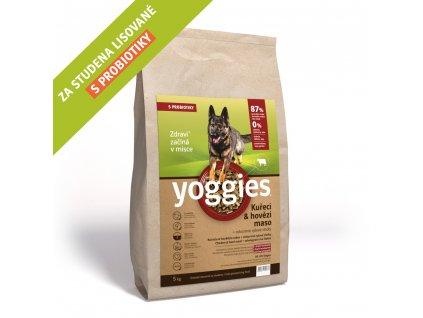 4kg kureci a hovezi maso granule lisovane za studena yoggies