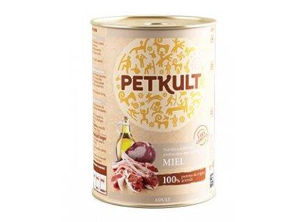 PETKULT dog konz. ADULT 400g - jehněčí