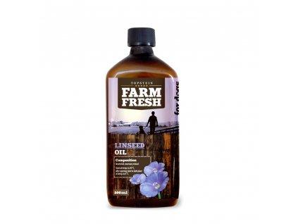 Farm Fresh Lněný olej 200ml