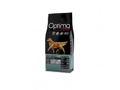 OPTIMAnova Dog OBESITY 12kg  + OPTIMANOVA FUNCTIONAL SNACK SENSITIVE DUCK 150G