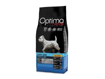 OPTIMAnova Dog Puppy Mini Chicken a Rice Mini Breeds