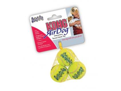 Kong AirDog XS tenisový míček 3ks / 3,8cm