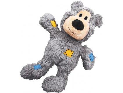 Kong Knots odolné přetahovadlo medvěd vel. M/L 26 cm
