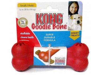 Kong Goodie Bone Medium gumová kost 17cm
