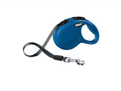 Flexi NEW CLASSIC XS pásek 3m/12kg modrá