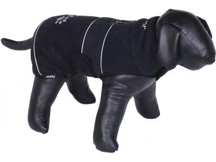Nobby TENIA fleece reflexní mikina pro psa černá 48cm
